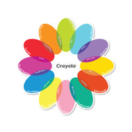 Crayola Flower Overlay