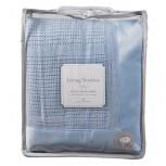 Living Textiles Cotton Cellular Blanket - Cot Size