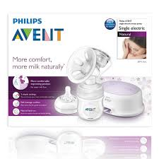 Natural Single Electric Breast Pump (1)