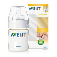 Avent 125ml 'Gold' Feeding Bottle - 0m+