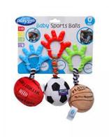 Playgro Baby Sports Balls Danglers