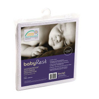 babyRest Waterproof Mattress Protector Standard Cot 1300x690