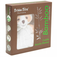 Bubba Blue Bamboo Cuddle Security Blanket