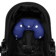 Outlook Head Hugger - Navy with Silver Spots