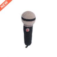 Weegoamigo  Crochet Rattle - Mini Microphone