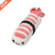 Weegoamigo  Crochet Rattle - Super Sushi