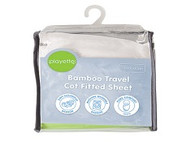 Playette Bamboo Travel Cot Fitted Sheet