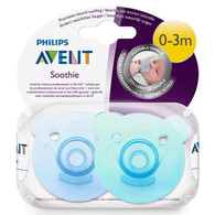 Avent Soothie Bear 2pk - Blue/Green