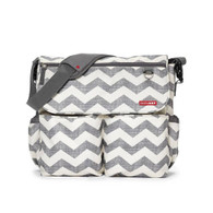 Skip Hop Dash Messenger Nappy Bag - Chevron