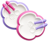 Baby Bjorn Baby Plate, Spoon and Fork, 2 sets