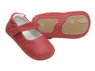 Playette Leather Collections - baby shoes - Mary Red