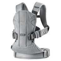 BabyBjorn 'ONE' Air Mesh Infant/Child carrier - Silver Mesh