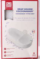 Cocoonababy Fleur de coton® fitted sheet