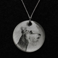 Schnauzer Pendant Necklace