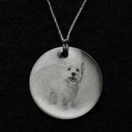 West Highland Terrier Pendant Necklace