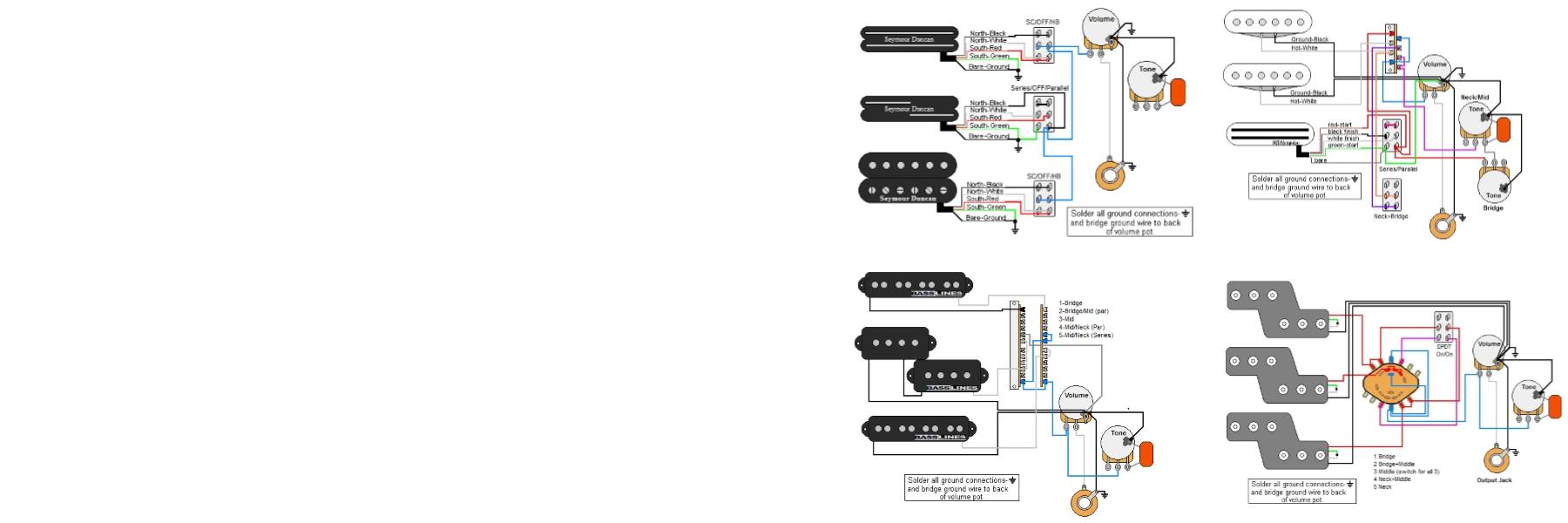 guitar electronics parts wiring diagrams. Black Bedroom Furniture Sets. Home Design Ideas