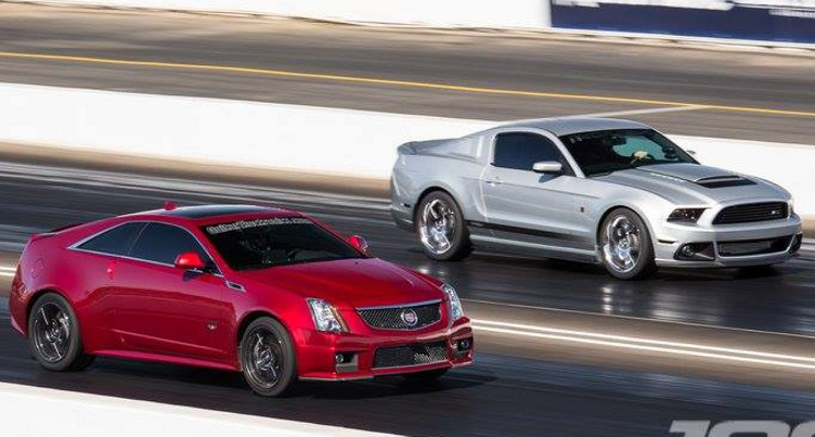 GuitarElectronics.com CTS-V vs. Supercharged Mustang