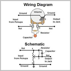guitar wiring diagrams resources guitarelectronics com rh guitarelectronics com humbucker wiring diagram one volume humbucker wiring diagram 2 volume 1 tone