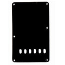 Strat Style Tremolo Spring Cover Plate-1Ply Black