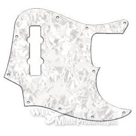 Mexican Standard Jazz Bass Pickguard-3Ply White Pearl