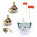 Tele Electronics Kit w/ CTS Pro Pots & 4-Way Mod Switch