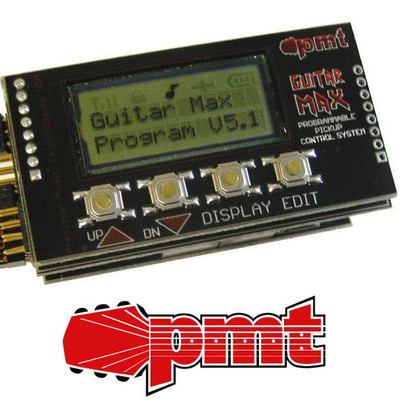 Guitar Max Programmable Pickup Control System