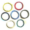Solid Core 22 Gauge Guitar Circuit Wire Bulk Pack-7 Colors