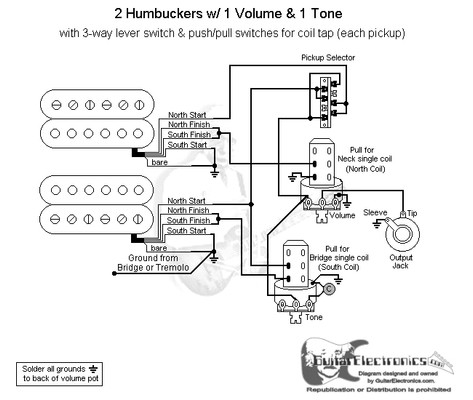 Treble Bleed Wiring Diagram together with Guitar Pickup Wiring Diagrams 1 in addition 3 Humbucker Wiring Diagram furthermore 7 Way Strat Wiring Diagram likewise Fender 5 Position Switch Wiring Diagram. on wiring diagram for strat with humbucker