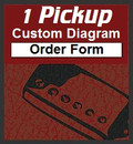 1 Pickup Custom Guitar Wiring Diagram Order Form