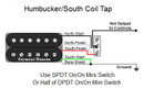 Humbucker/South Coil Tap
