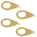 Pointer Washers for Volume & Tone Controls-Gold