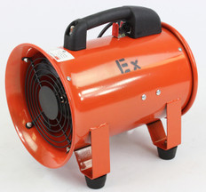 "8"" Explosion Proof Centrifugal Fan w/ Ducting"
