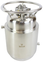 Jacketed Stainless Steel LP Tank with Internal Condensing Coil and Dip Tube