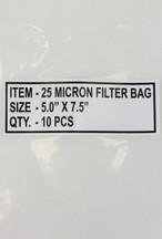 25 Micron Rosin Filter Bag (25μm) 10PK - Large
