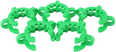 5 Pack of Plastic Keck Clips - 24/40