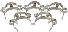5 Pack of Metal Keck Clips - 24/40