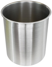 3 Gallon Tall Stainless Steel SIDEMOUNT - (Pot Only)