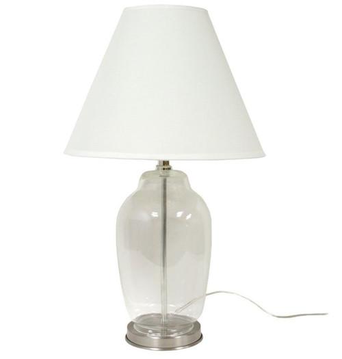 Nautical seasons fillable glass table lamp 6910 toll free 866 888 2628 fillable glass lamp fill with shells nautical seasons aloadofball Images