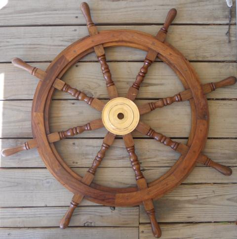 Large Ships Wheel  Nautical Seasons