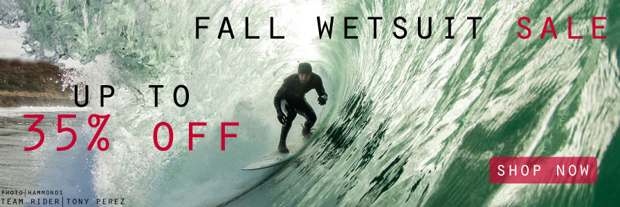 Fall Wetsuit Sale