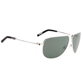Spy Wilshire Sunglasses - GP Silver / Happy Grey Green