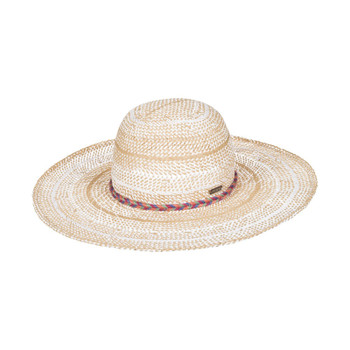 Roxy Take A Break Straw Hat - Bright White