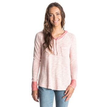 Roxy Boomerang Love Hooded Top - Faded Rose
