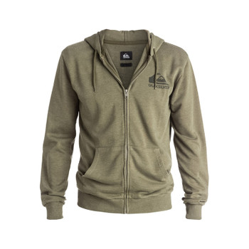 Quiksilver Jungle Forest Zip Hoodie - Dusty Olive