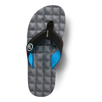 Volcom Recliner Sandal - Grey Blue