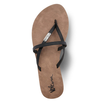 Volcom All Night Long Sandals - Black