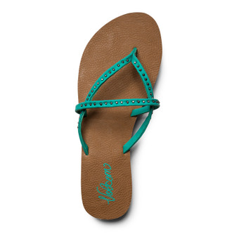 Volcom All Day Long Sandal - Mint Green Heather