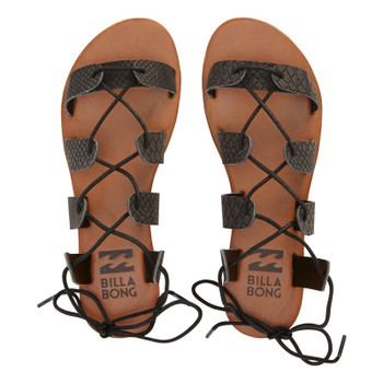 Billabong Beach Brigade Sandal - Off Black