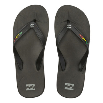 Billabong All Day Solid Sandal - Rasta