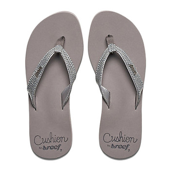 Reef Star Cushion Sassy Sandal - Gunmetal